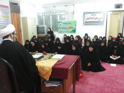 برگزاری مراسم 9 دی در مدرسه علمیه جوادلائمه آبدانان