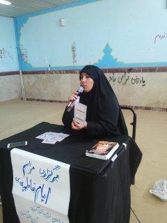 شروع تبلیغ جهت پذیرش توسط معاونت فرهنگی مدرسه خواهران آبدانان
