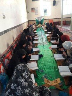 برگزاری کلاسهای طرح رمضان توسط  مبلغین مدرسه علمیه خواهران آبدانان